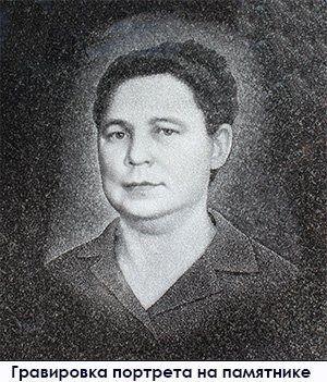 Гравировка портрета женщины на гранитный памятник