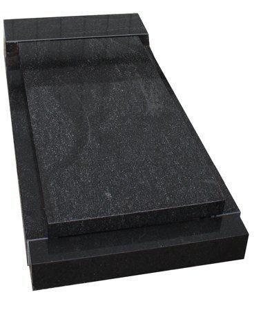 Фото надгробной плиты простой прямоугольной формы