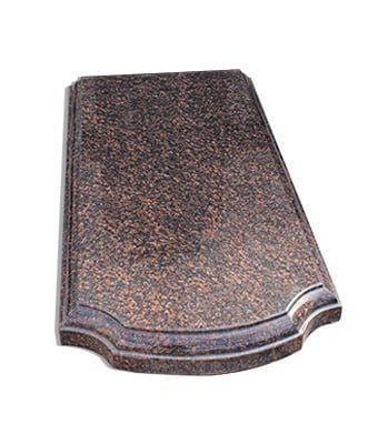 Надгробная плита фигурной формы с фаской